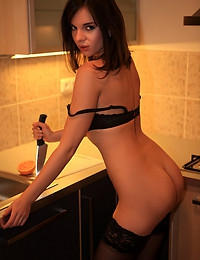 Kitchen - FREE PHOTO PREVIEW - WATCH4BEAUTY erotic art magazine