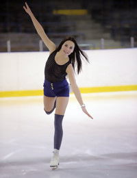 Ice Skater - FREE PHOTO PREVIEW - WATCH4BEAUTY erotic art magazine