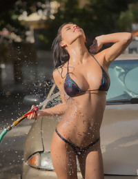 Car Wash - FREE PHOTO PREVIEW - WATCH4BEAUTY erotic art magazine