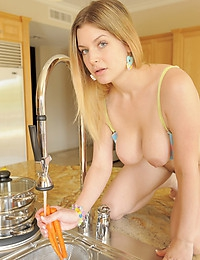 Danielle FTV Playing Chess Naked