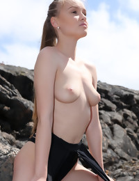 Naked Angel In Lava Field - Free preview - WATCH4BEAUTY | Stripped Art Magazine
