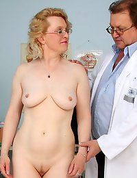 Mora  old love tunnel medical tool gyno checkup at clinic
